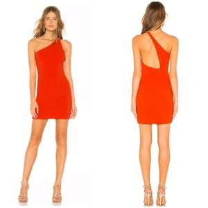 NBD Daxton One Shoulder Mini Dress